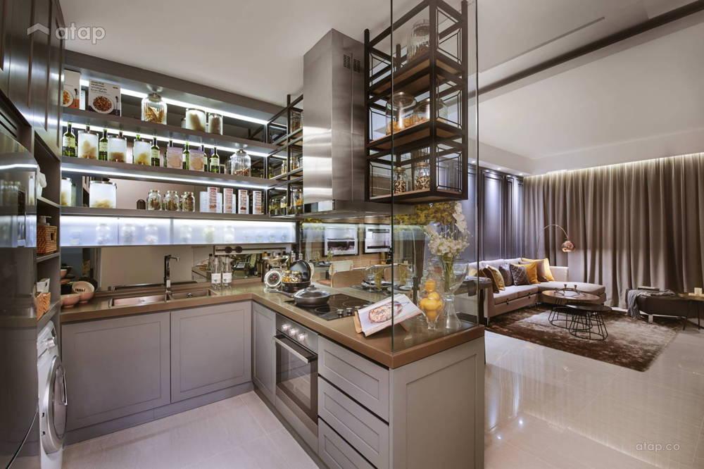 sentral suites kitchen