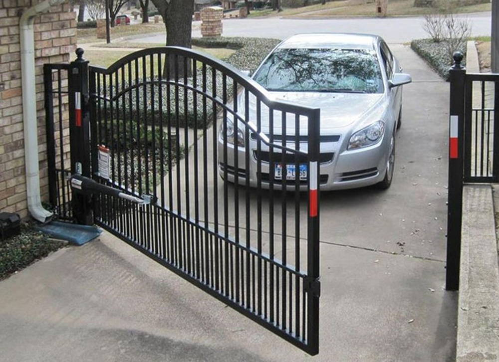 single swing gate design2