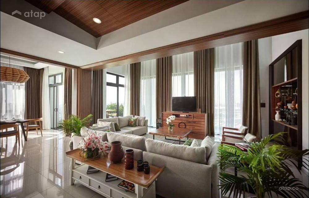 Oriental living area