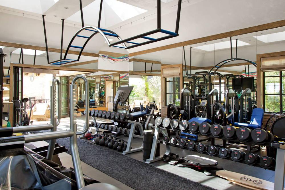 Tom Brady gisele bundchen gym