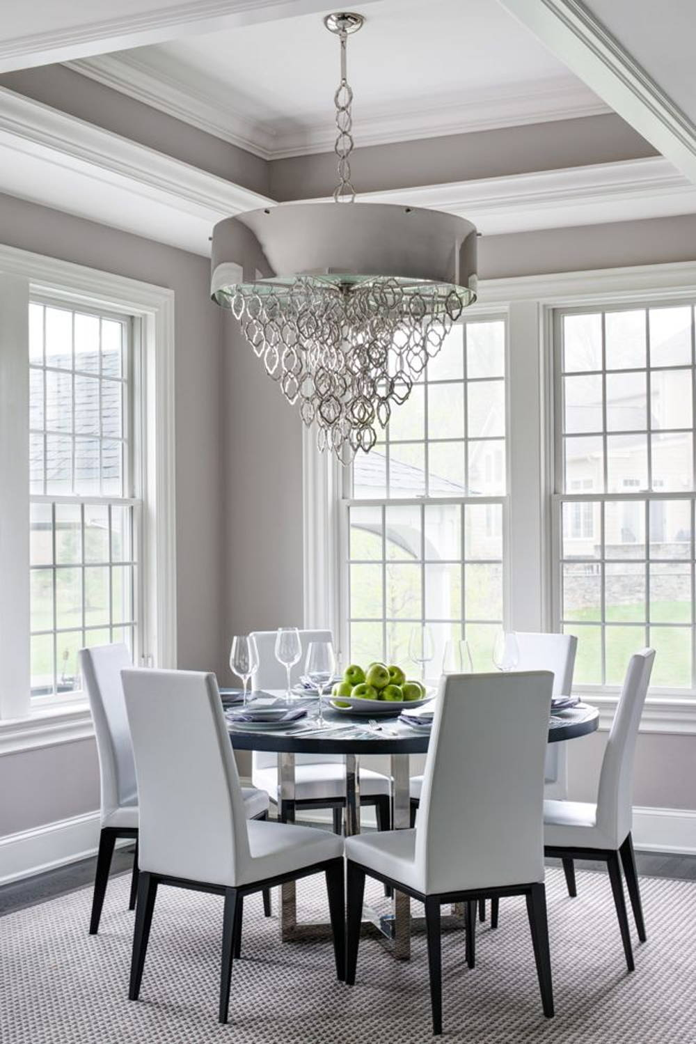 tray ceiling dining