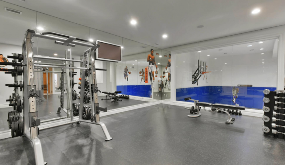 Mary j blige home gym