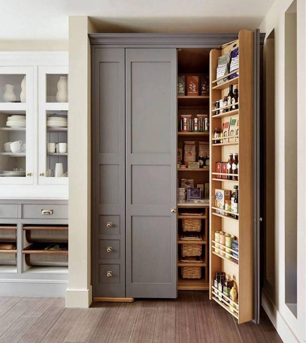 modern kitchen pantry