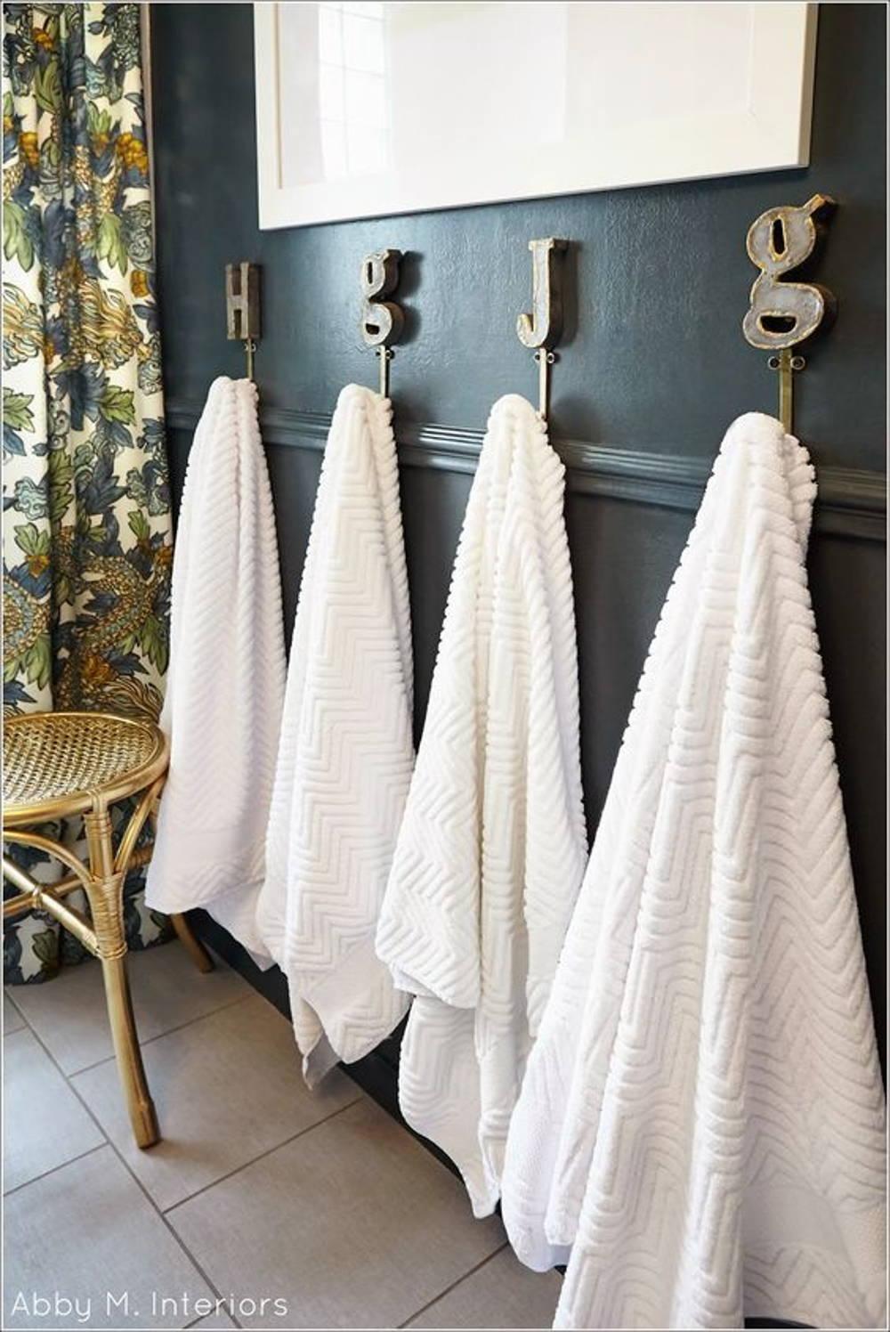 children towel hooks