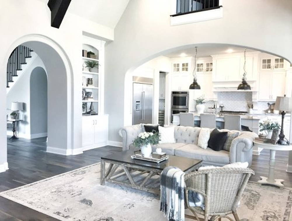 arch home living room