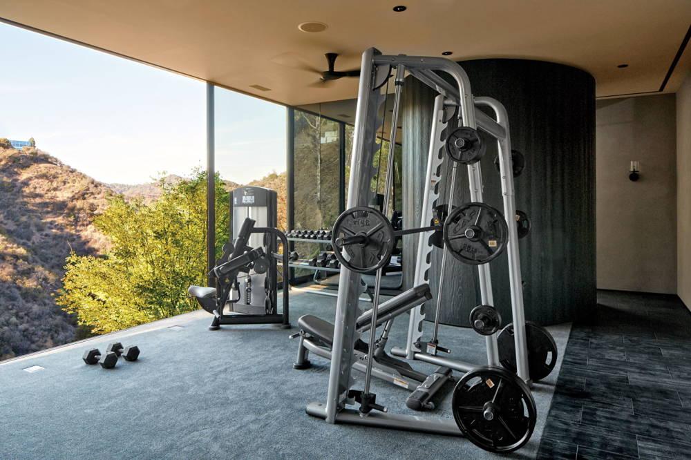 Michael Bay home Gym