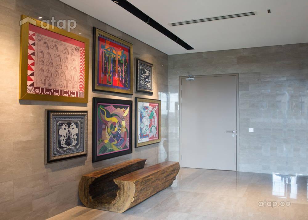 lift lobby art