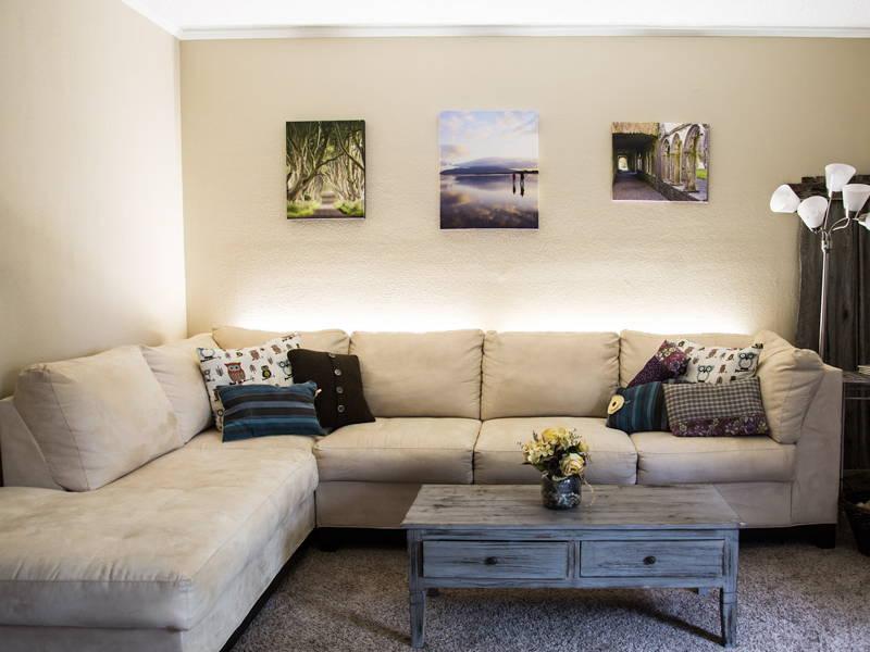 uplight sofa