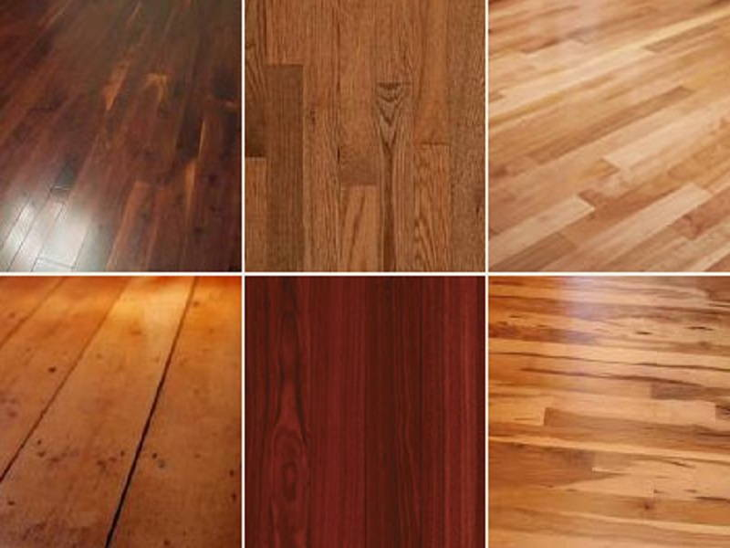 types of wood floor