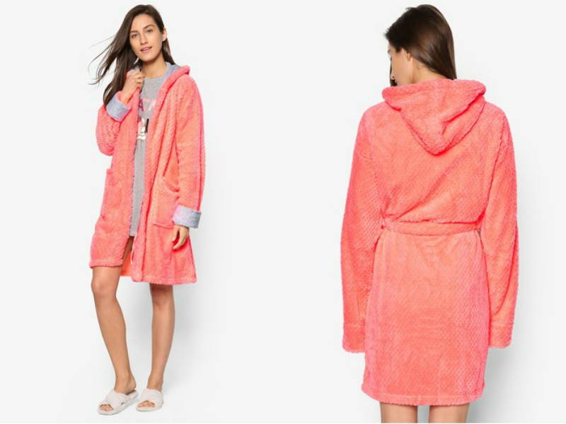soft bath robe