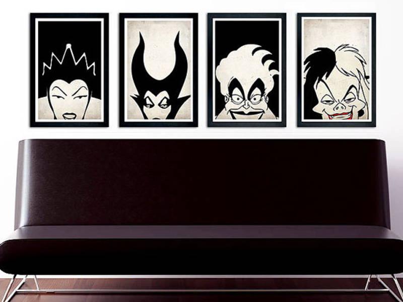 disney villain poster
