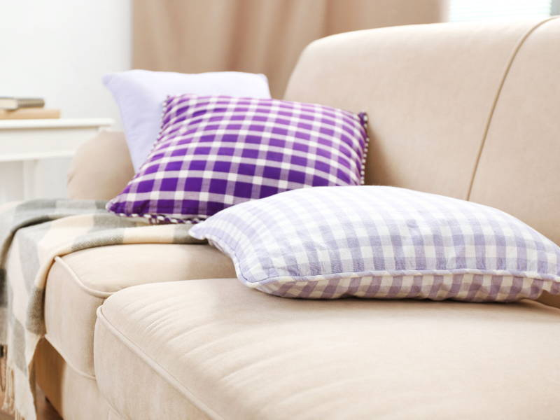 Sofa throw pillows