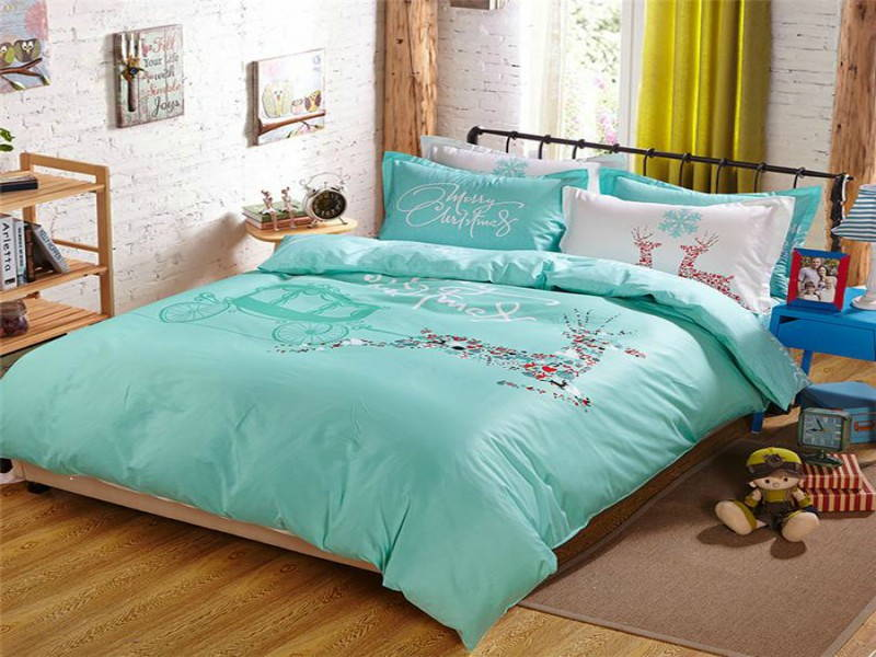 reindeer bed sheets