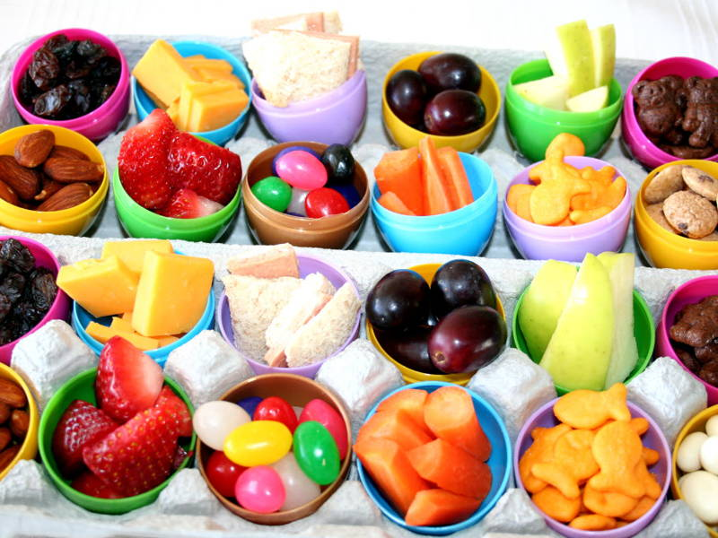 Easter egg healthy snacks