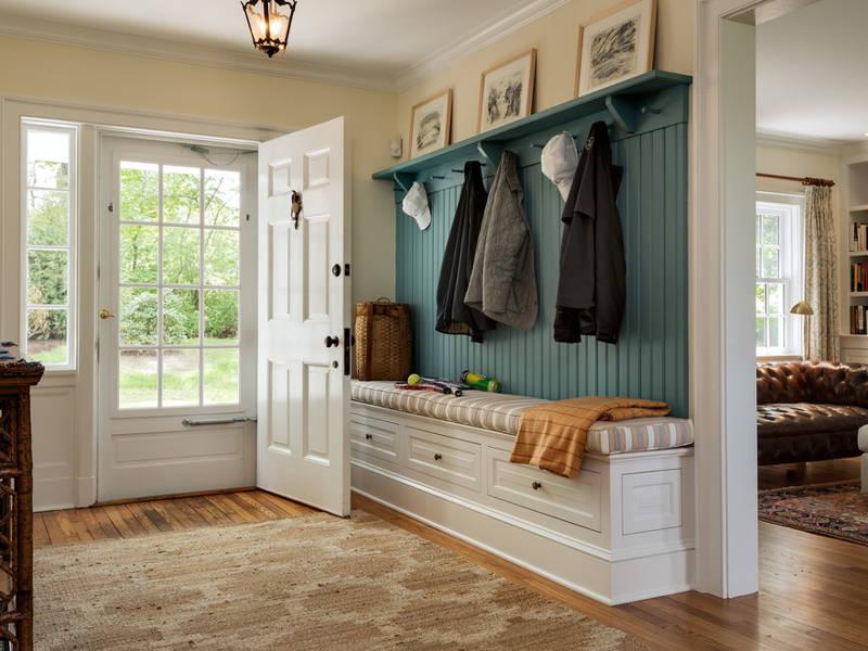 large foyer coat rack