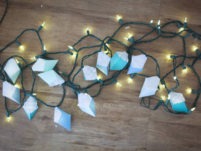 geometric fairy light