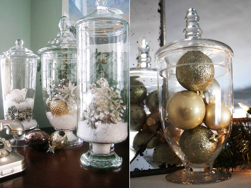 Ornaments jar