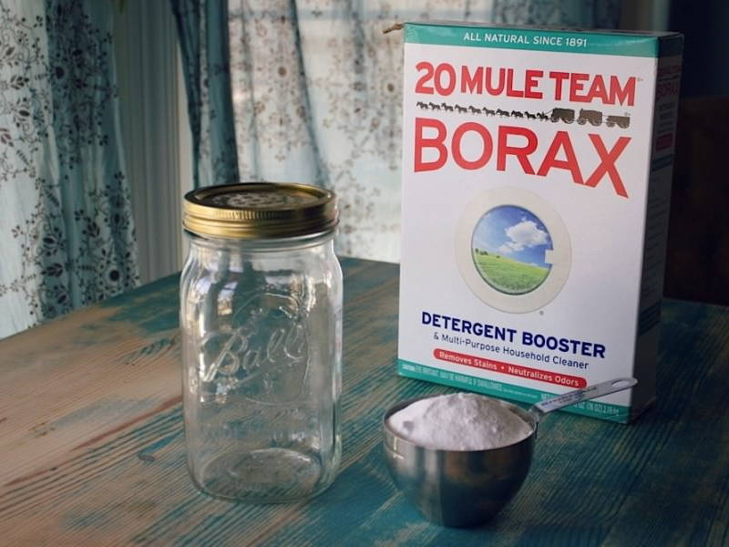 borax cleaning