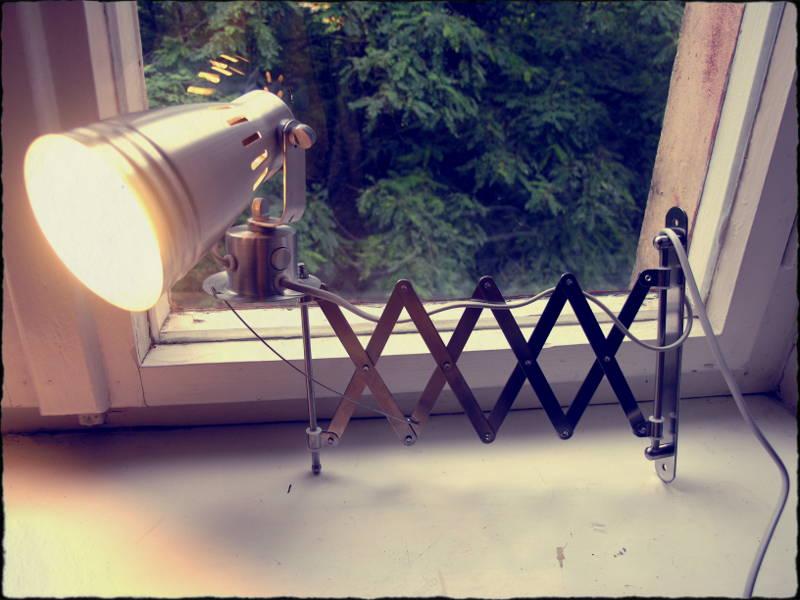 ikea scissor lamp