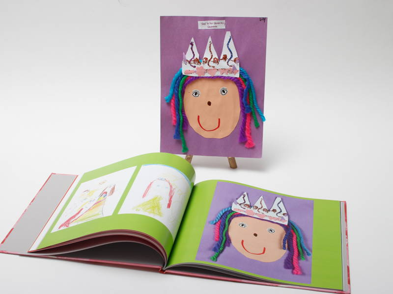 children's art photobook