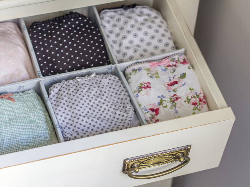 panty drawer organiser