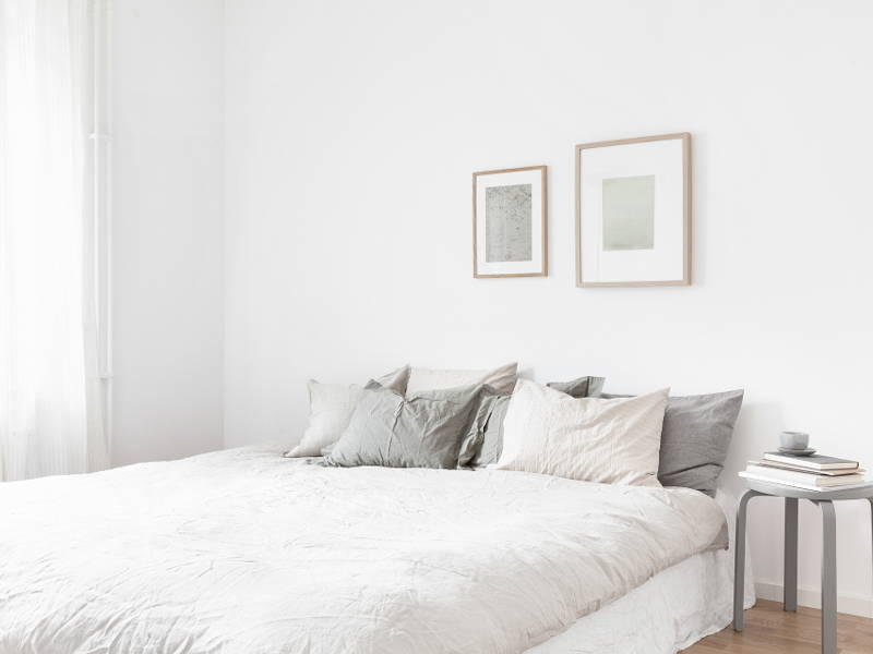 neutral colour bedroom