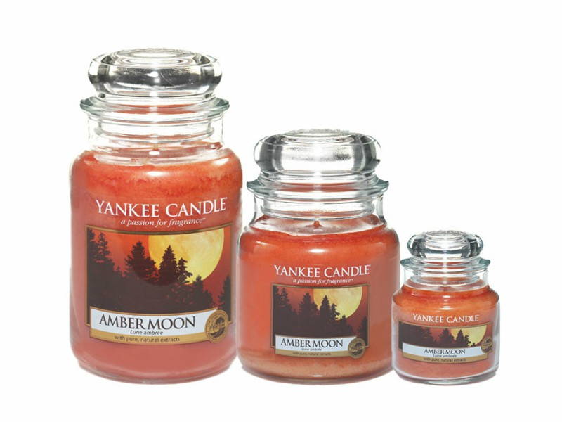 Yankee Candle Fall Amber Moon