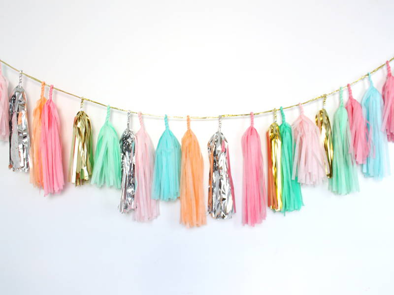 party tassels DIY
