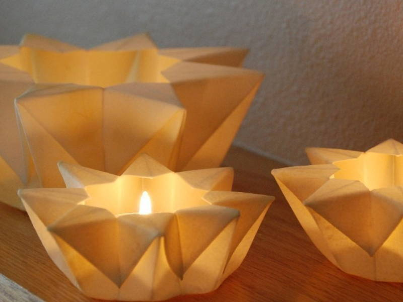 paper tea light
