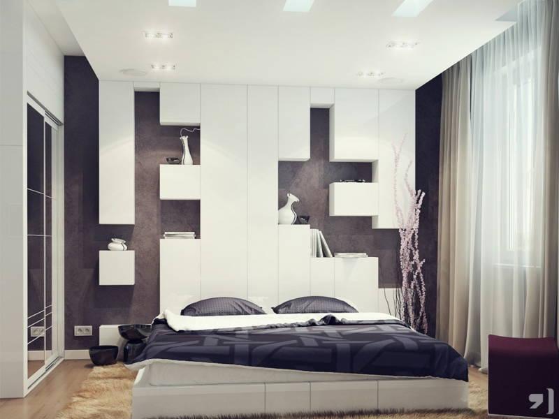 bed niche storage