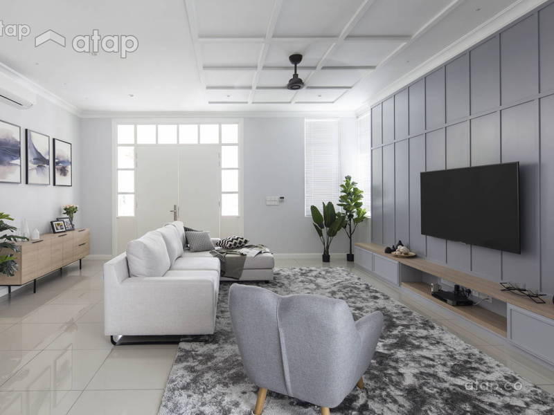 10 Malaysian Living Room Designs That Are Bursting with Personality
