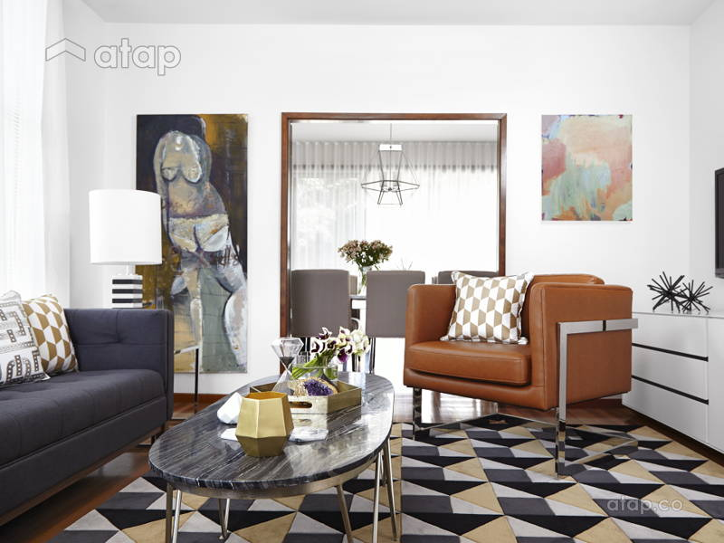 Designers' Tricks to Mixing Modern and Retro Styles in Your Space