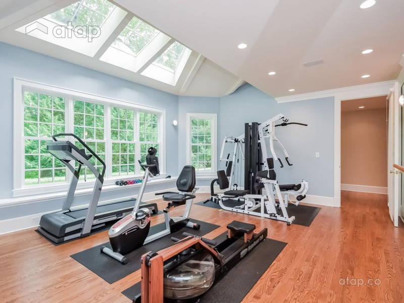 Let these celebrity home gyms inspire your own atap
