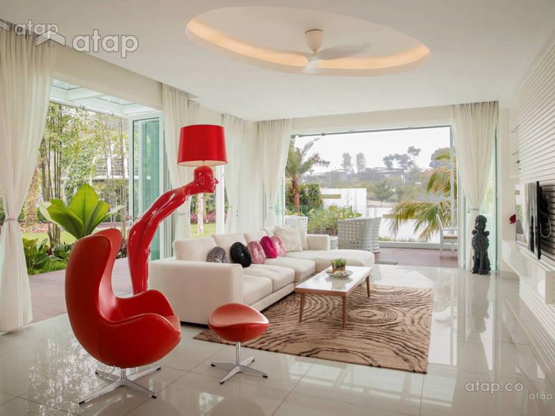 Mesmerising Living Room Designs in Johor Bahru