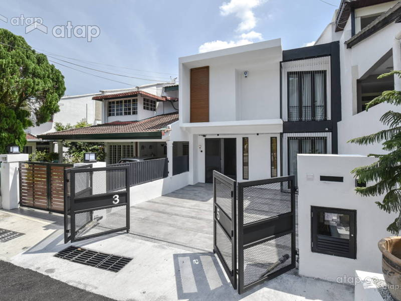 Great Classy And Stylish Terrace House Designs In Malaysia