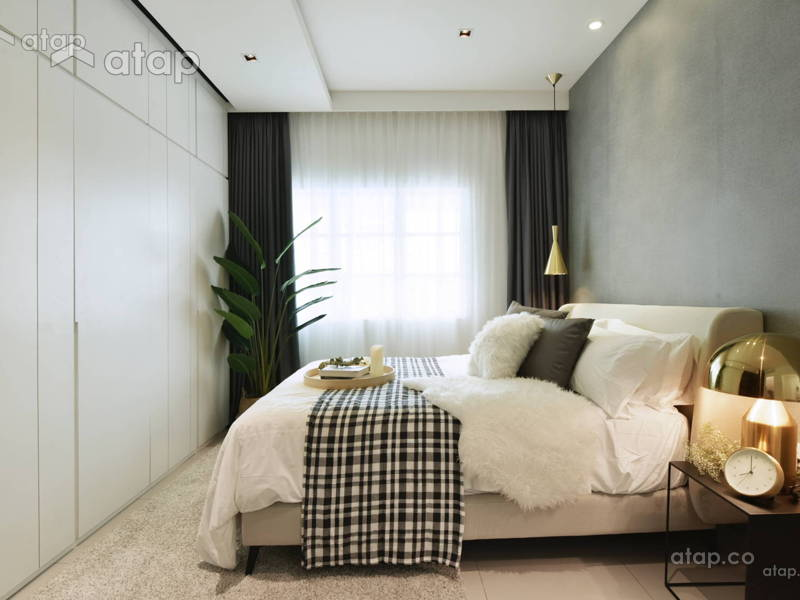 23 Beautiful Bedroom Interior Designs in Malaysia Atap.co - Malaysia Interior Design Retail Interior Design MALAYSIA INTERIORDESIGN DESIGNERS HOME