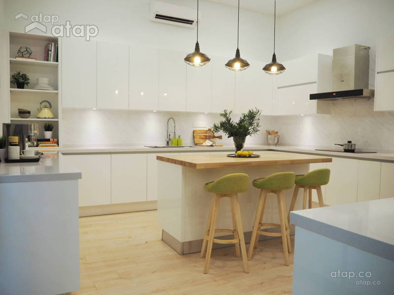 Modern Kitchen Cabinet Designs By Malaysian Interior Designers Atap Co