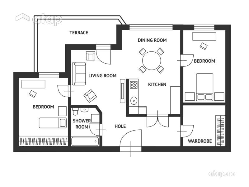 floor plan home