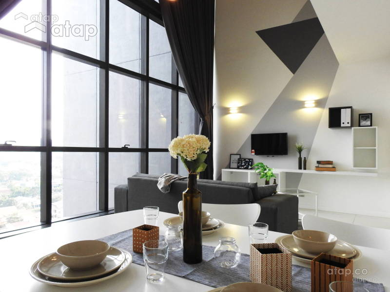 Malaysian Apartment Interior Design That Cost RM100,000 and Below