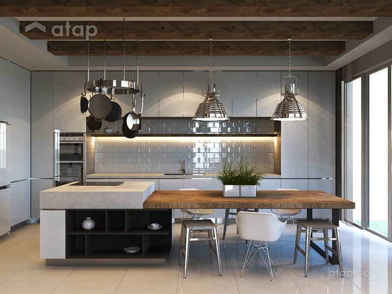 Dreamy Kitchen Designs in Selangor Homes