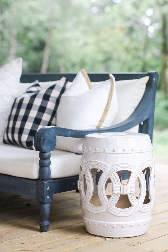 Garden stool outdoor