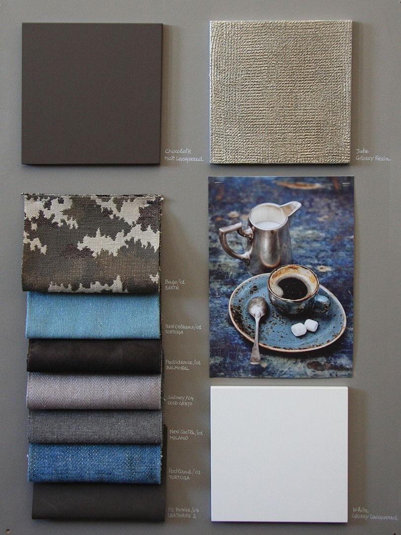 blue concept board