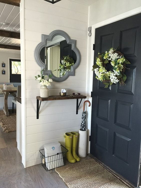 small foyer mirror