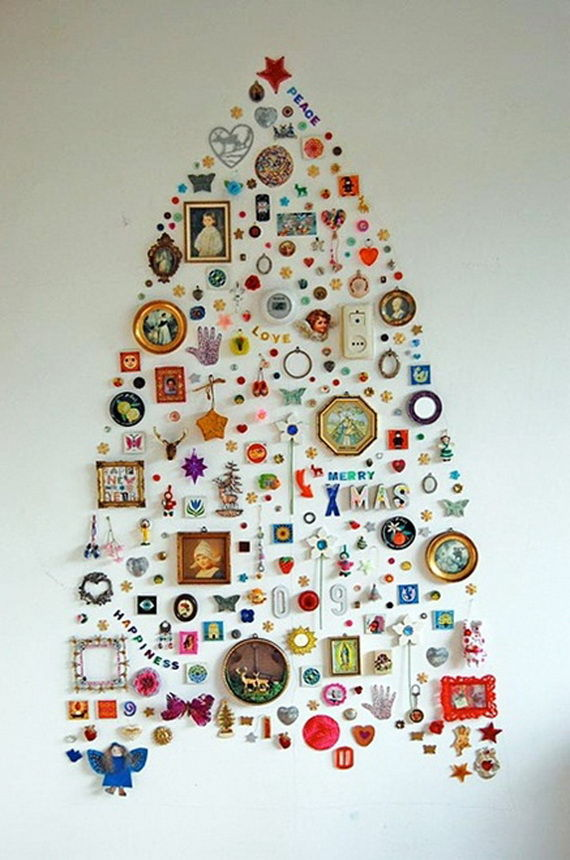 trinket wall xmas tree