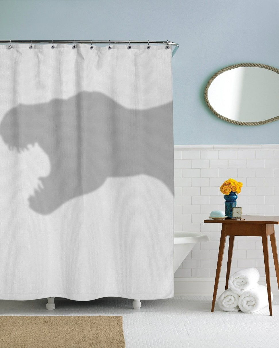 trex shower curtain