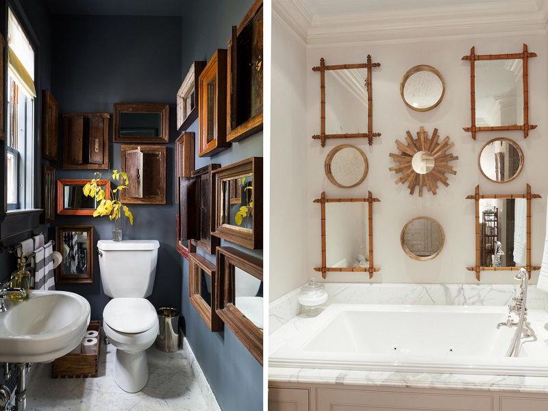 wooden mirror gallery