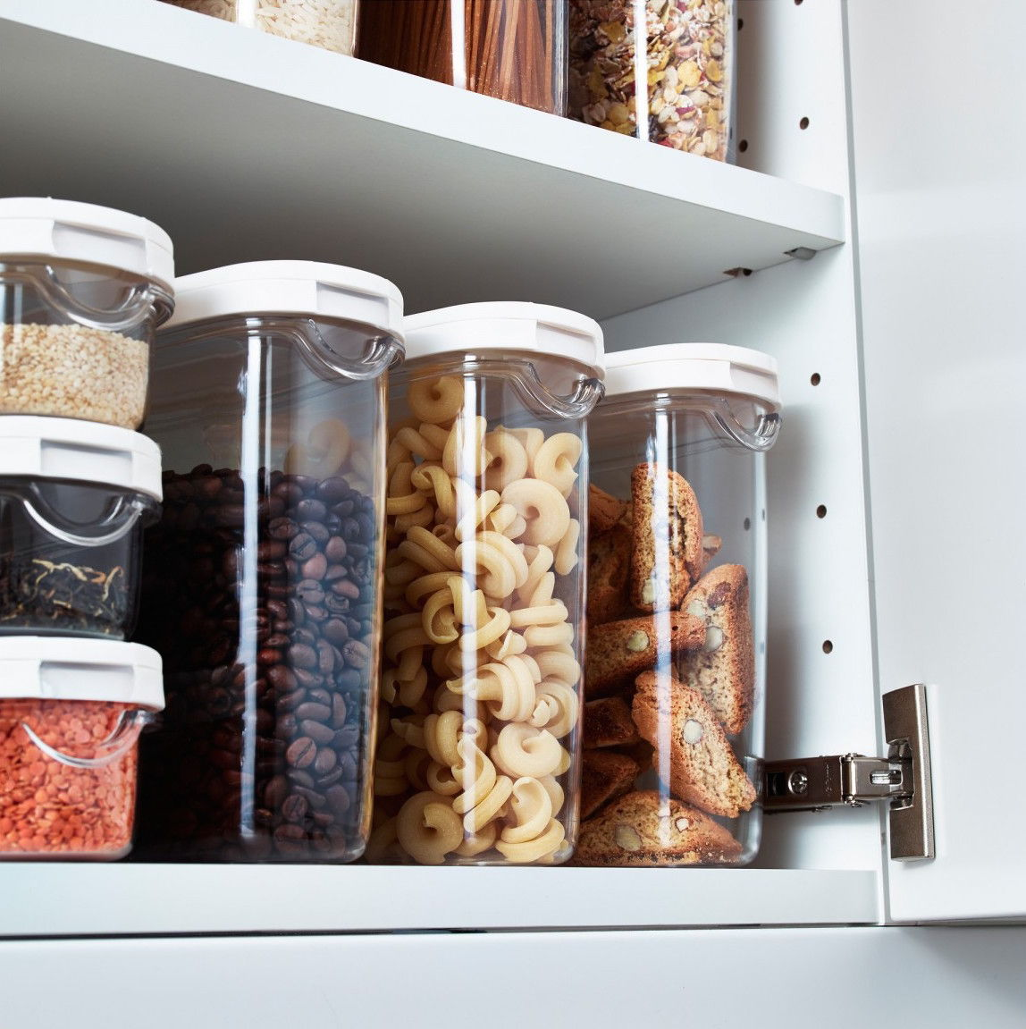 ikea dry food jar with lid