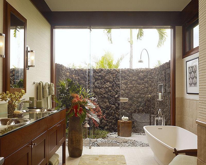 bathroom big windows