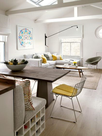 dining living open space