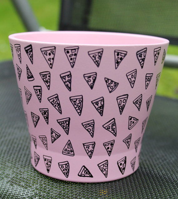 pizza design bin